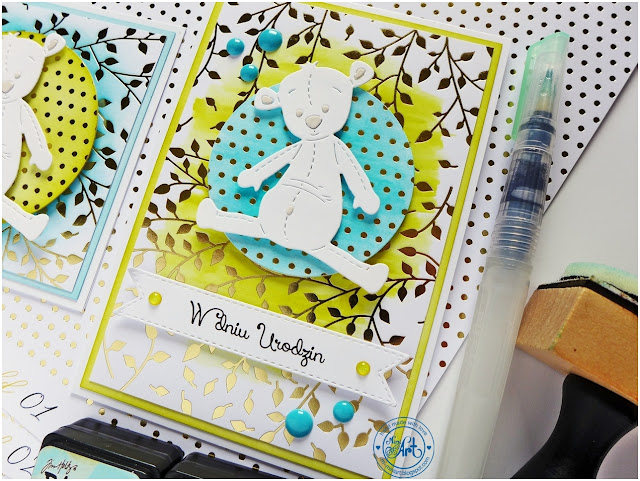 White & Gold – w kolorze? / in kolor? – DT Craft Passion