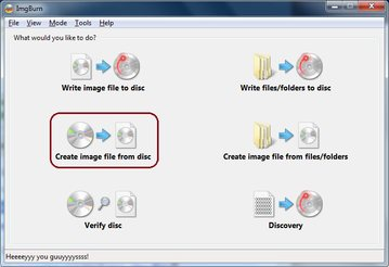 create image file from disk