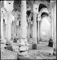 Cistern Ipek Bodrum, Interior view, May 1937. A forest of columns of a variety of rhythms holds the vaulted roof of drained cistern [Credit: © Nicholas V. Artamonoff Collection, Image Collections and Fieldwork Archives, Dumbarton Oaks]