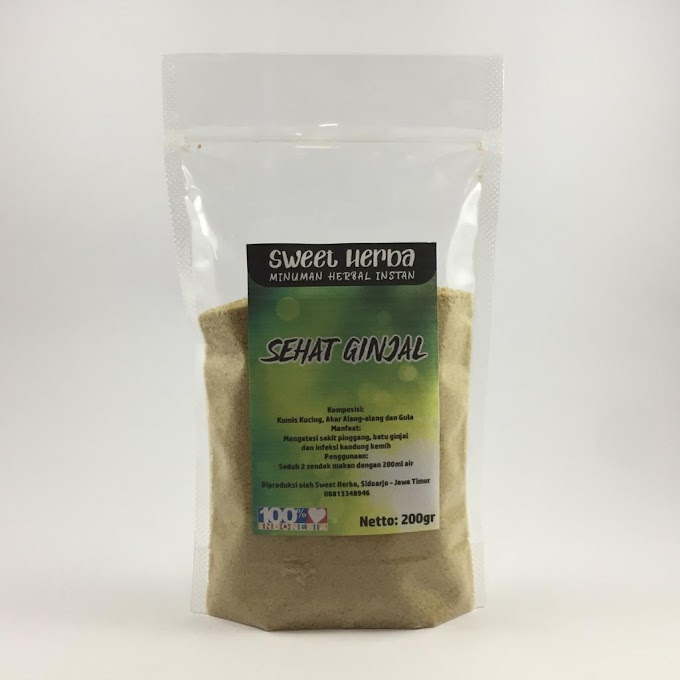 Sehat Ginjal Pouch 200 Gram