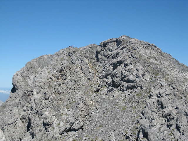 Rutas Montaña Asturias: Subiendo Peña Ubiña, llegando a la arista que da a cima