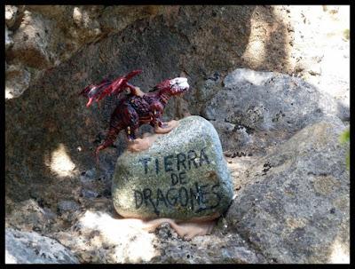 Tierra de dragones, Peña Rueba