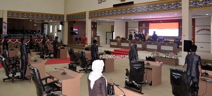 Sampaikan 12  Rekomendasi  Terkait LKPJ  Bupati TA  2019