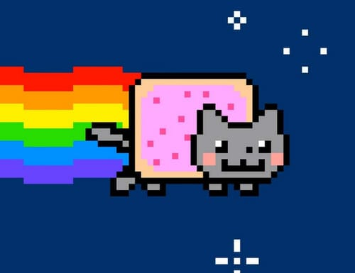 Nyan Cat encrypted artwork costs around $ 600,000