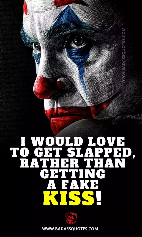 Joker Quotes on Love