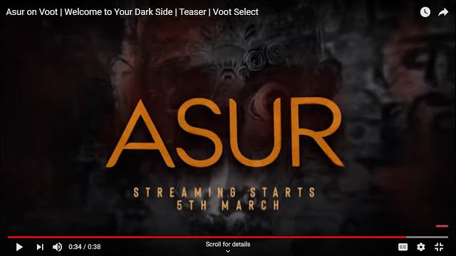 Asur Web series review | Voot | एक suspense thriller कहानी है - Ifno Movtive