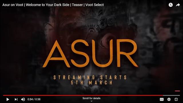 Asur Web series review   Voot   एक suspense thriller कहानी है - Ifno Movtive