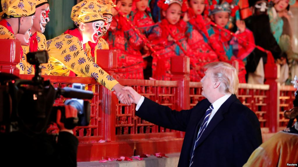Presidente de EEUU  cumple su gira oficial por países de Asia