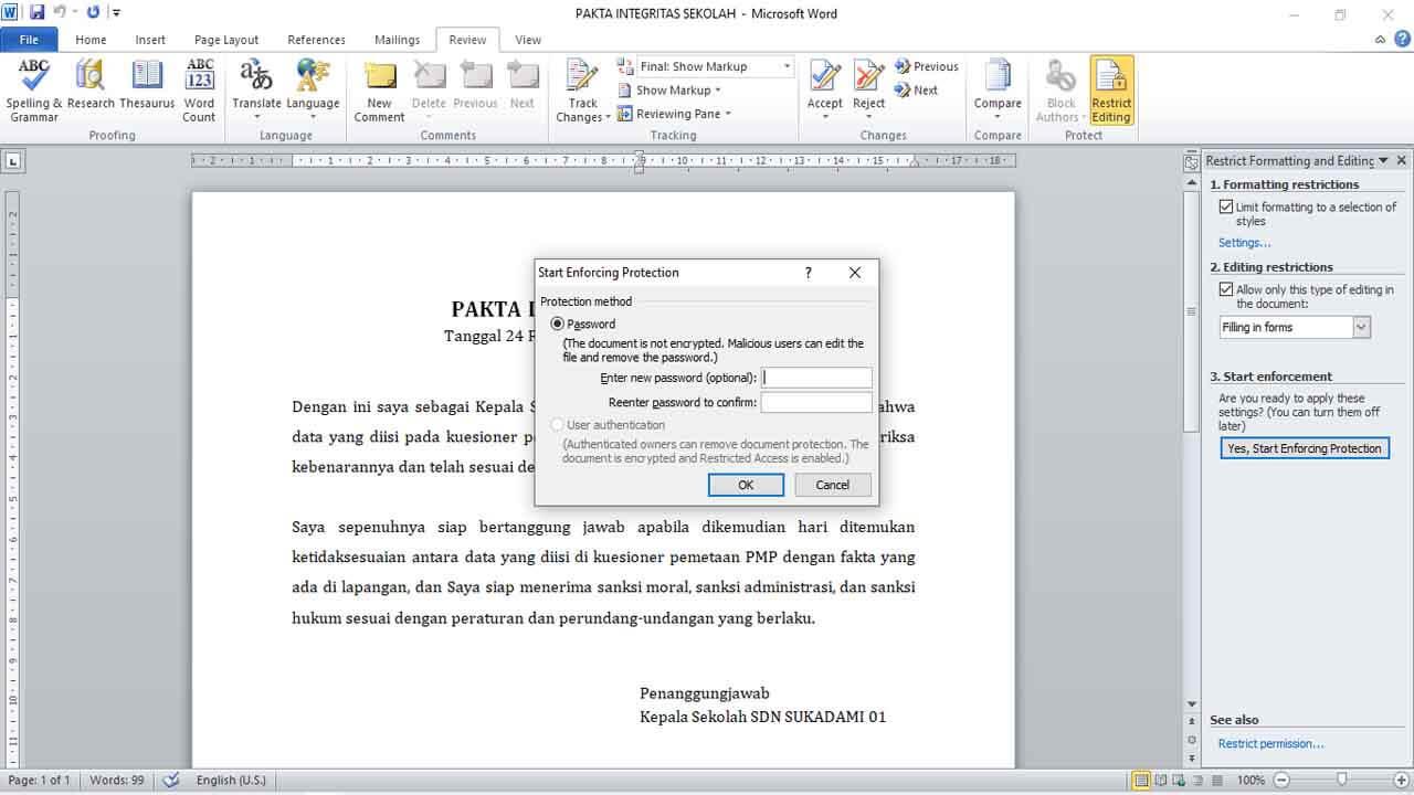 Cara Membuka File Microsoft Word yang Terkunci