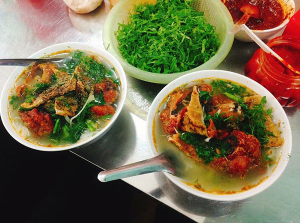 Nam Dinh Fish Vermicelli imbued with the taste of the homeland
