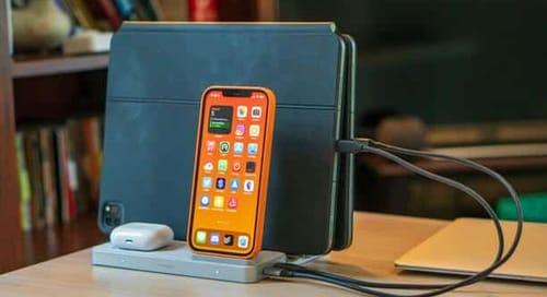 Kensington StudioCaddy organizes Apple devices