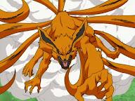 jutsu transformacion Kyubi zorro de las nueve 9 colas