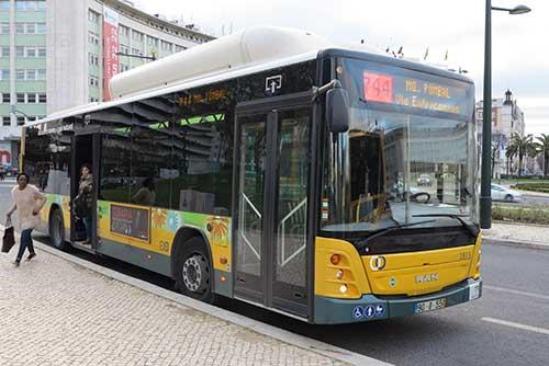 Lisbon Bus 744.