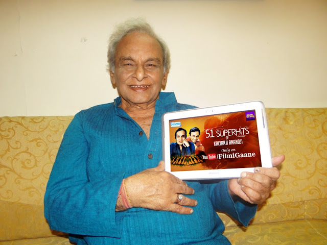 "Anand ji in association with Shemaroo Entertainment launches ""51 Superhits of Kalaynji Anandji"