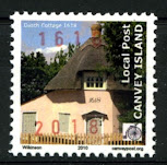 Canvey Local Post Dutch Cottage 400th Anniversary Stamp