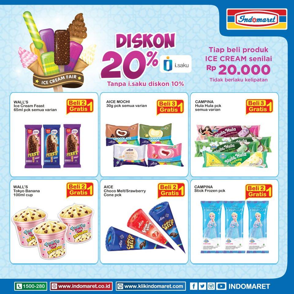 Indomaret Promo Ice Cream Fair Mei 2020 Scanharga