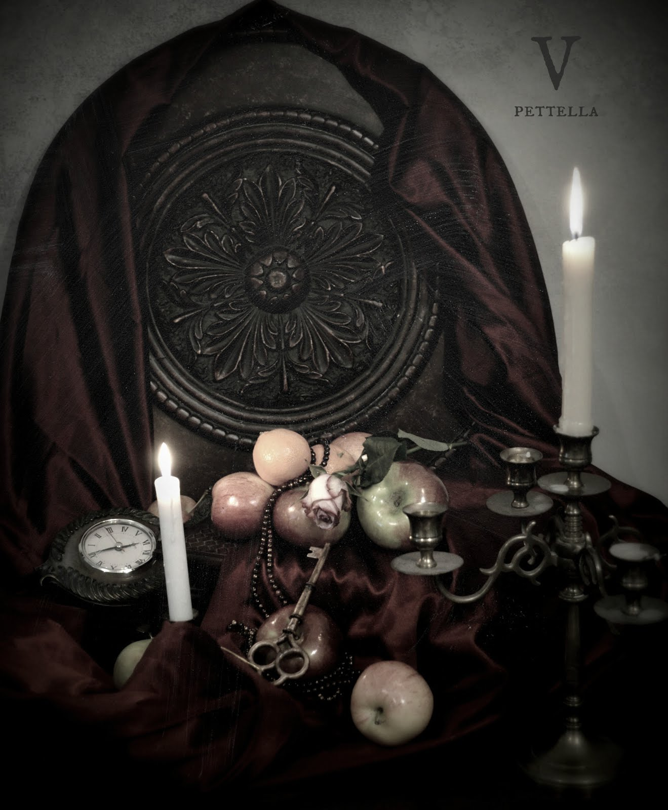 the witches feast ~ romantic still life