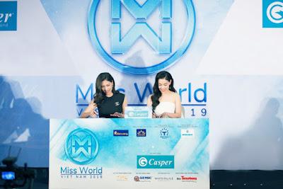 Casper tiếp tục đồng hành cùng Hoa Hậu Việt Nam - Miss World Vietnam