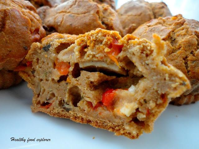 Muffinki na wytrawnie