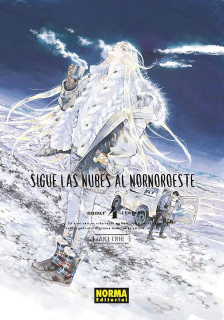 Review del manga Sigue las nubes al Nornoroeste Vol. 4 de Aki Rie - Norma Editorial