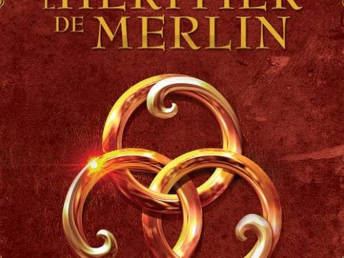 Le secret des druides, tome 1 : L'Héritier de Merlin d'Elodie Loisel