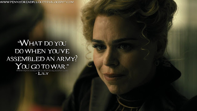 What do you do when you've assembled an army? You go to war.