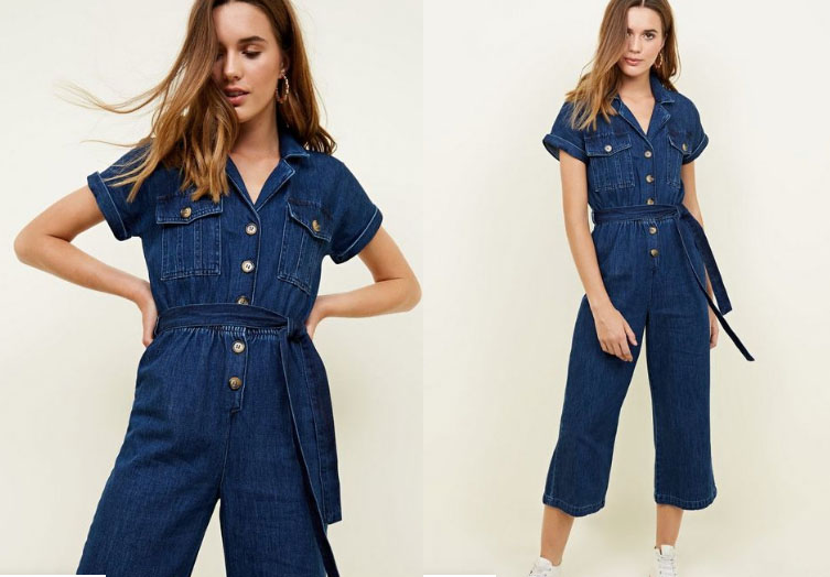 New Look Denim Jumpsuit - My Top High Street Finds #3 - The Autumn Edit // Lauren Rose Style // Fashion Blogger London Wishlist