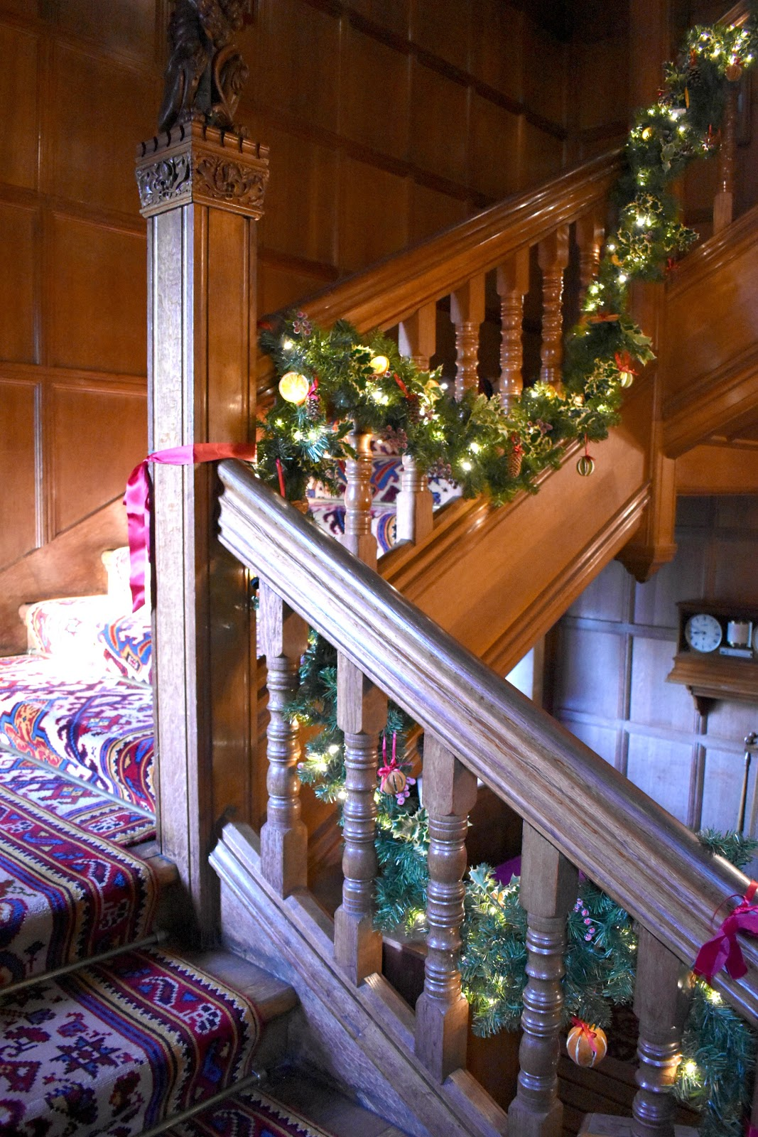 Christmas at Cragside House