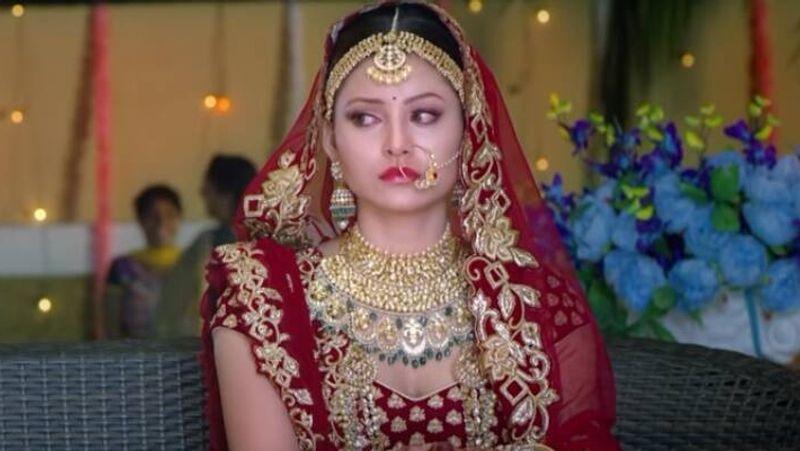 urvasgi rautela marriage bridal pic