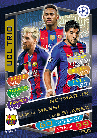 how to play match attax 2016 17