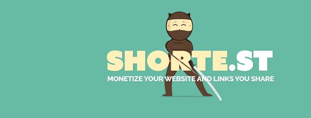 Peluang Jana Pendapatan Blog Dengan shorte.st