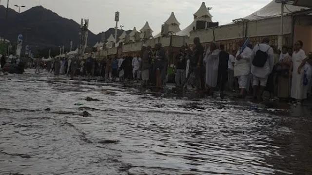 Soal Heboh Berita Banjir di Mina, Ini Penjelasan Kadaker Makkah