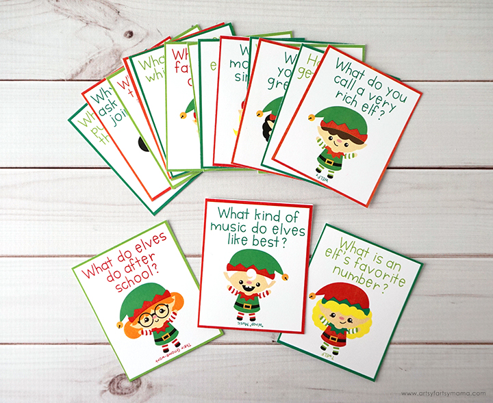 Free Printable Elf Jokes