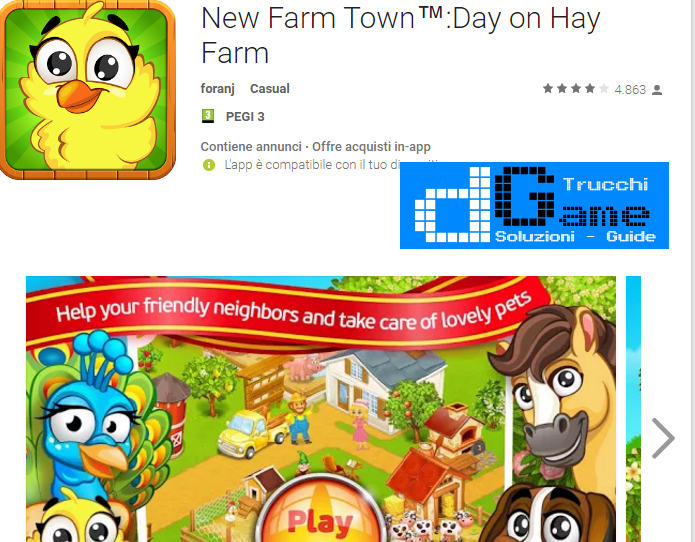 Trucchi New Farm Town™:Day on Hay Farm  Mod Apk Android v1.1.6