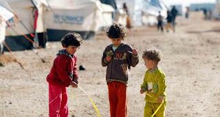 مصرع 4 أطفال سوريين في حريق بالأردن