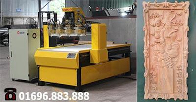 máy chạm gỗ cnc