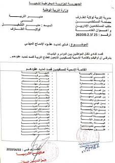 قائمة المستفيدين من عملية الإدماج لولاية الطارف