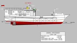 desain kapal longline