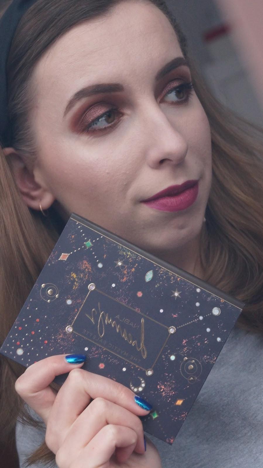 Nabla Dreamy 2 - pierwszy makijaż paletą
