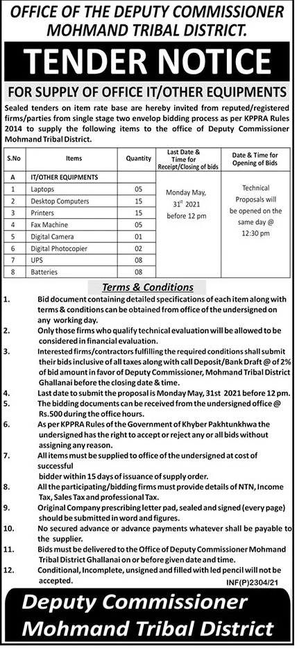 Mohmand-Tribal-District-Tender-16-May-2021