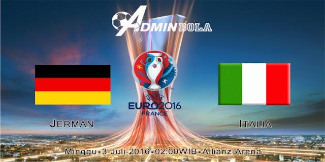 Prediksi Bola Jerman vs Italia 03 Juli 2016