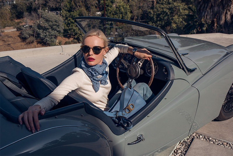 Tory Burch Gemini Link Campaign starring Kate Bosworth
