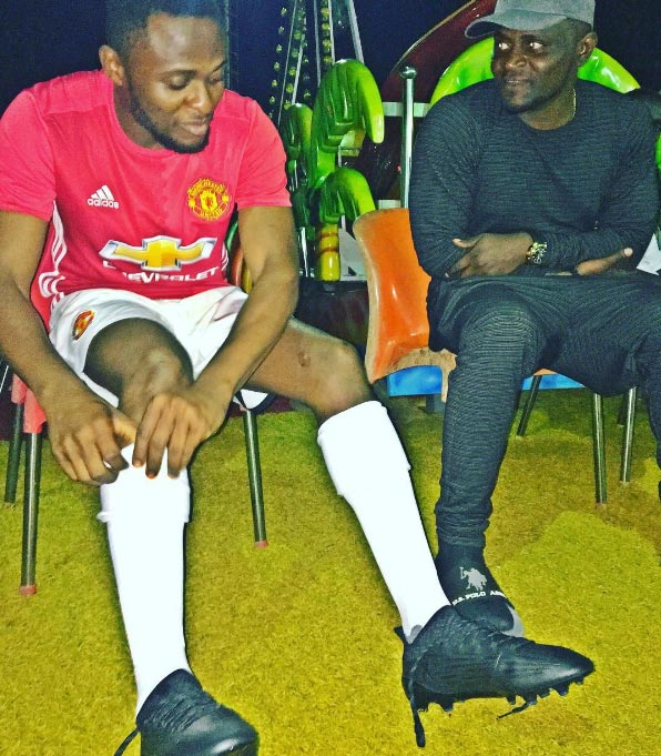 Ubi Franklin: On standby incase Mourinho wants to rest Rooney or Ibrahimovic