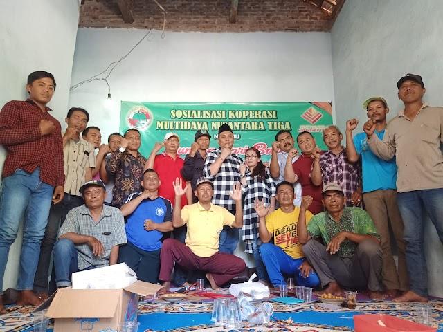 Ketum Koperasi MNT Hadir Ditengah Rapat Anggota Koperasi MNT Cabang Pasuruan