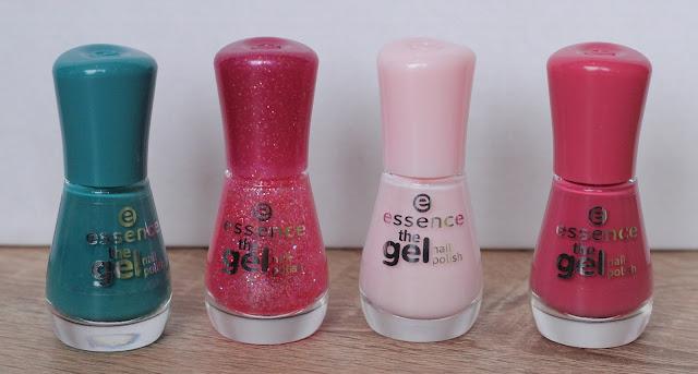 Vier nagellakjes uit de collectie van Essence