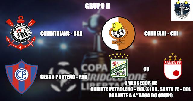 Os adversários do Corinthians na Libertadores 2016