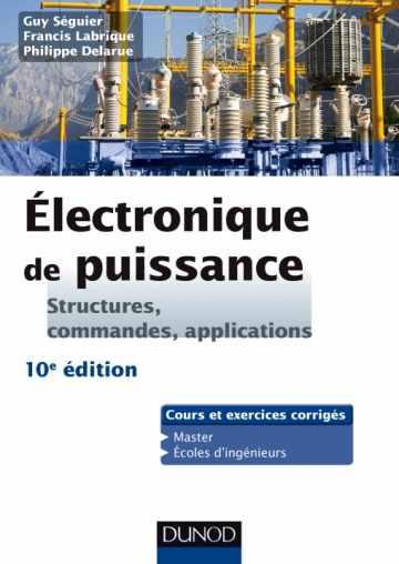 livre Electronique de puissance - 10e édition