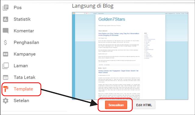 Cara Mudah Mengubah Template Blog Menjadi 1 (Satu) Kolom