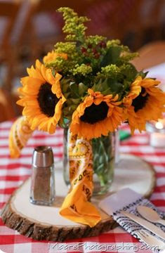 Rustic Fall Rehearsal Dinner