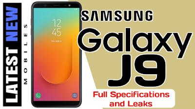 Samsung Galaxy J9 Specifications